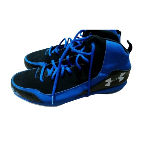 Under Armour Mens Basketball Athletic Shoes Blue